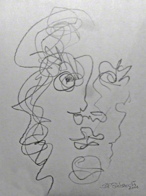 line.men (c) Brigitte Felician Siebrecht
