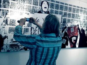 we're readble / Wandbild 2013 Brigitte Felician Siebrecht