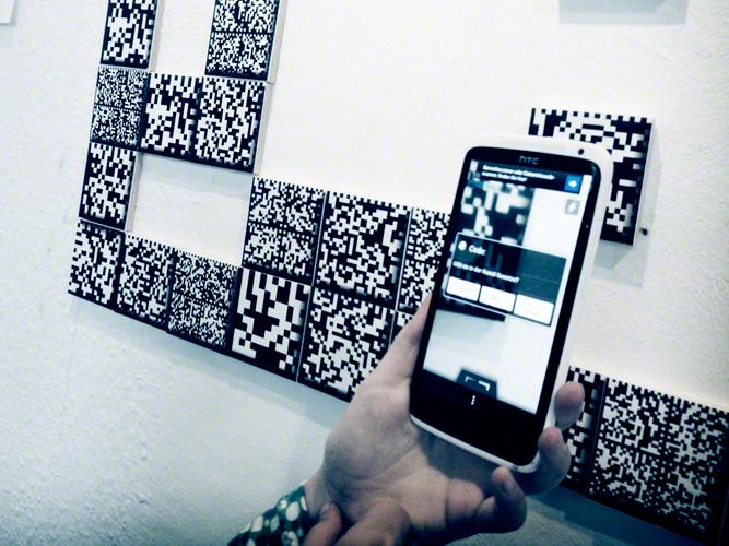 we're readable / Code Art / Exhibition Siebrecht && Pempeit 2013