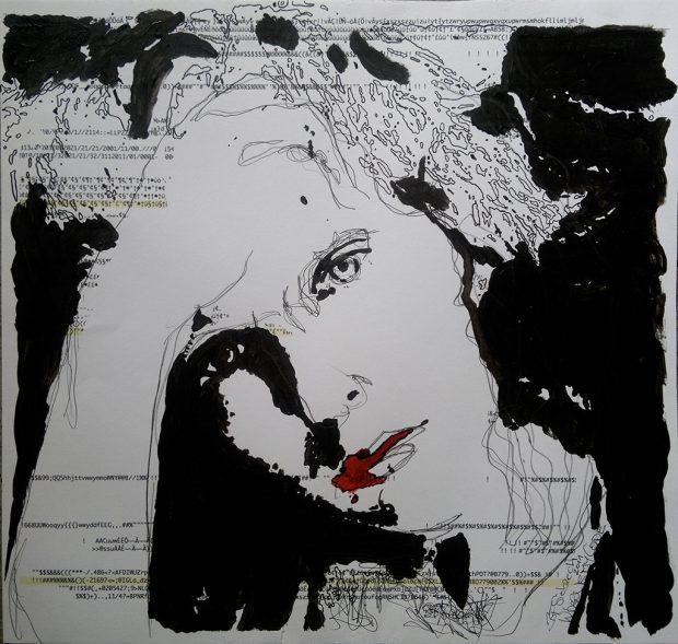"""Aus der Serie """"Where is my Code"""" Brigitte Felician SIebrecht"""