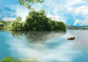Avalon am Seilersee Fantasy Postkarten edition | Brigitte Felician Siebrecht