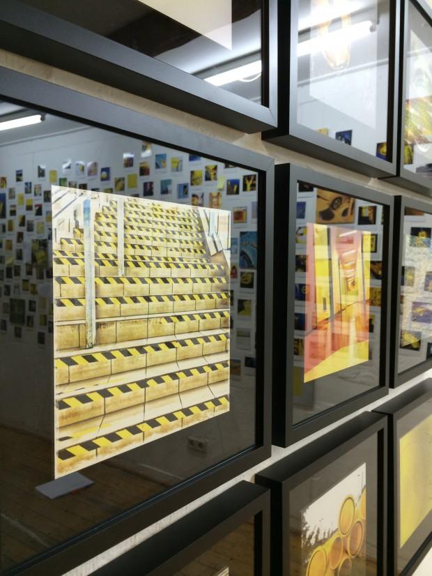Die Welt ist gelb - First synchronized GeLB exhibit & gig