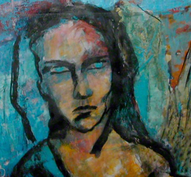 """Still from gBild """"to blu to see"""" von Brigitte Felician Siebrecht"""