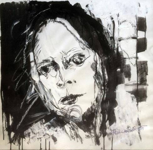 """Aus """"The madness of being normal"""" von Brigitte Felician Siebrecht"""