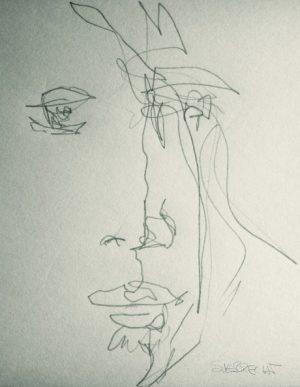"""Aus der Serie """"Line.Men"""" von Brigitte Felician Siebrecht"""