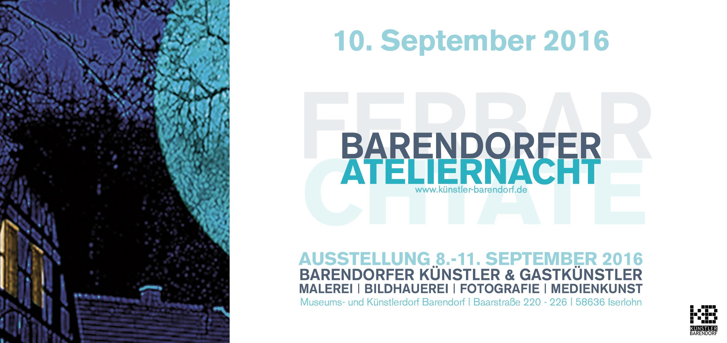 Barendorfer Ateliernacht 2016