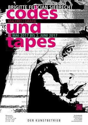 "Vernissage ""codes & tapes"" 6.5.2017"