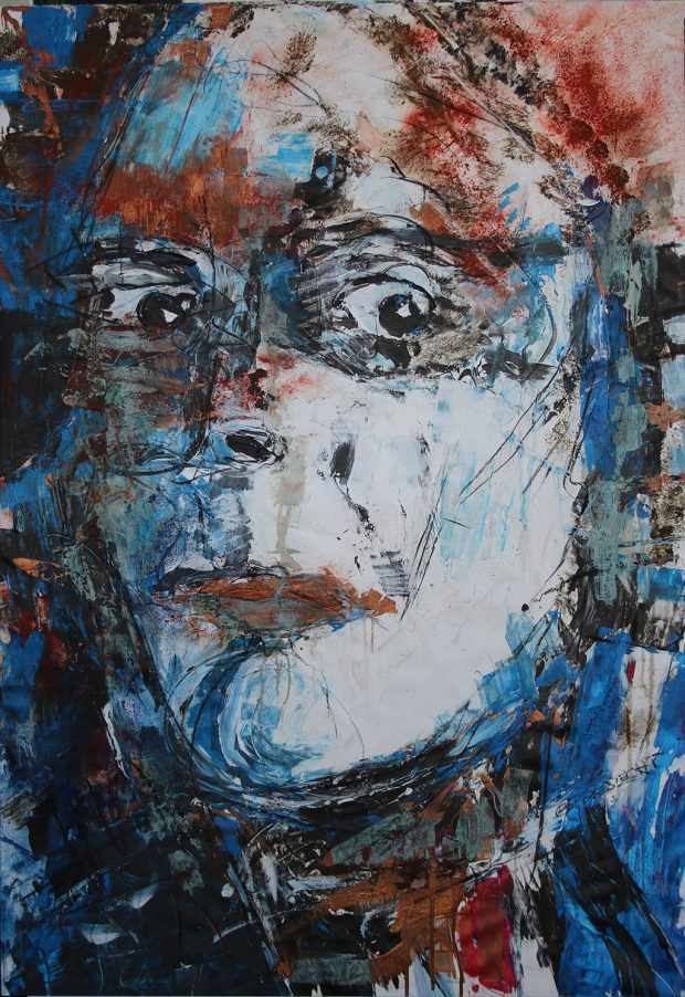 """Bild """"Selbsterstaunt 2"""" von Brigitte Felician Siebrecht"""