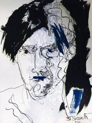 """Aus der Serie """"Where is my Code"""" von Brigitte Felician Siebrecht"""