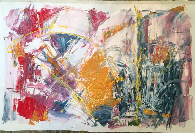 """Bild """"Erfassung 3"""" von Brigitte Felician Siebrecht"""