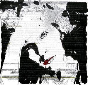 """Bild """"Where is my Code?"""" von Brigitte Felician Siebrecht"""