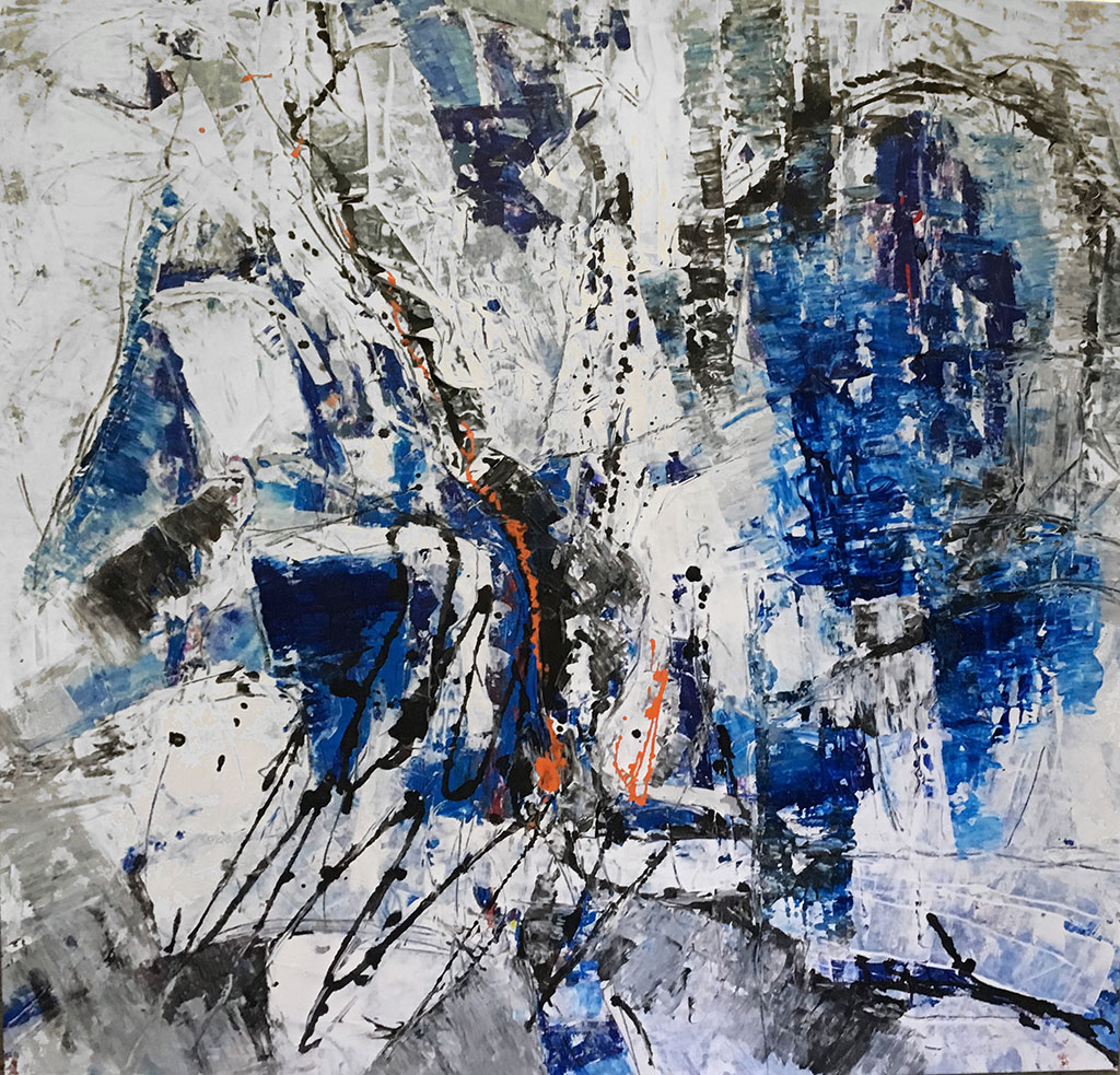 """Bild """"Herzhorizont"""" von Brigitte Felician Siebrecht"""