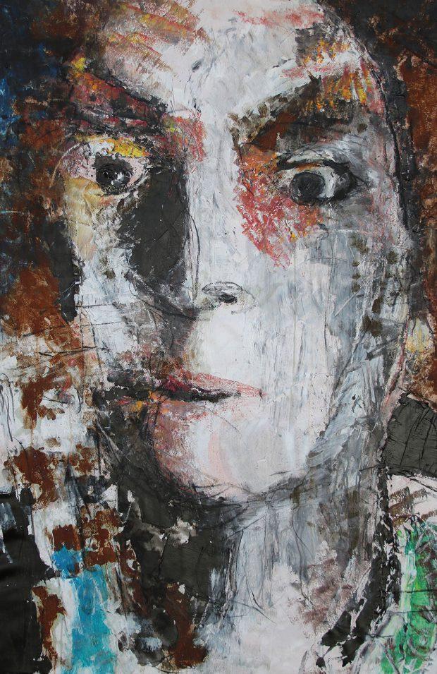 """Bild: """"Selbsterstaunt I"""" von Brigitte Felician Siebrecht"""