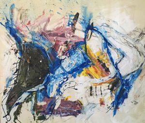 """Bild: """"Tape Komposition"""" von Brigitte Felician Siebrecht"""