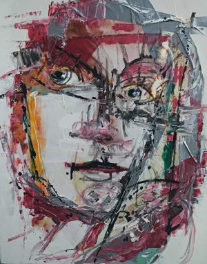 """Bild: """"Tape'o self"""" von Brigitte Felician Siebrecht"""