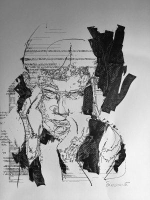 """Bild: """"Where is my Code 17/10"""" von Brigitte Felician Siebrecht"""