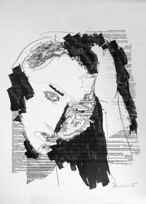 """Bild: """"Where is my Code 17/6"""" von Brigitte Felician Siebrecht"""