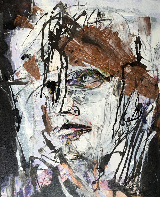 """Bild """"Zurück schauen"""" von Brigitte Felician Siebrecht"""