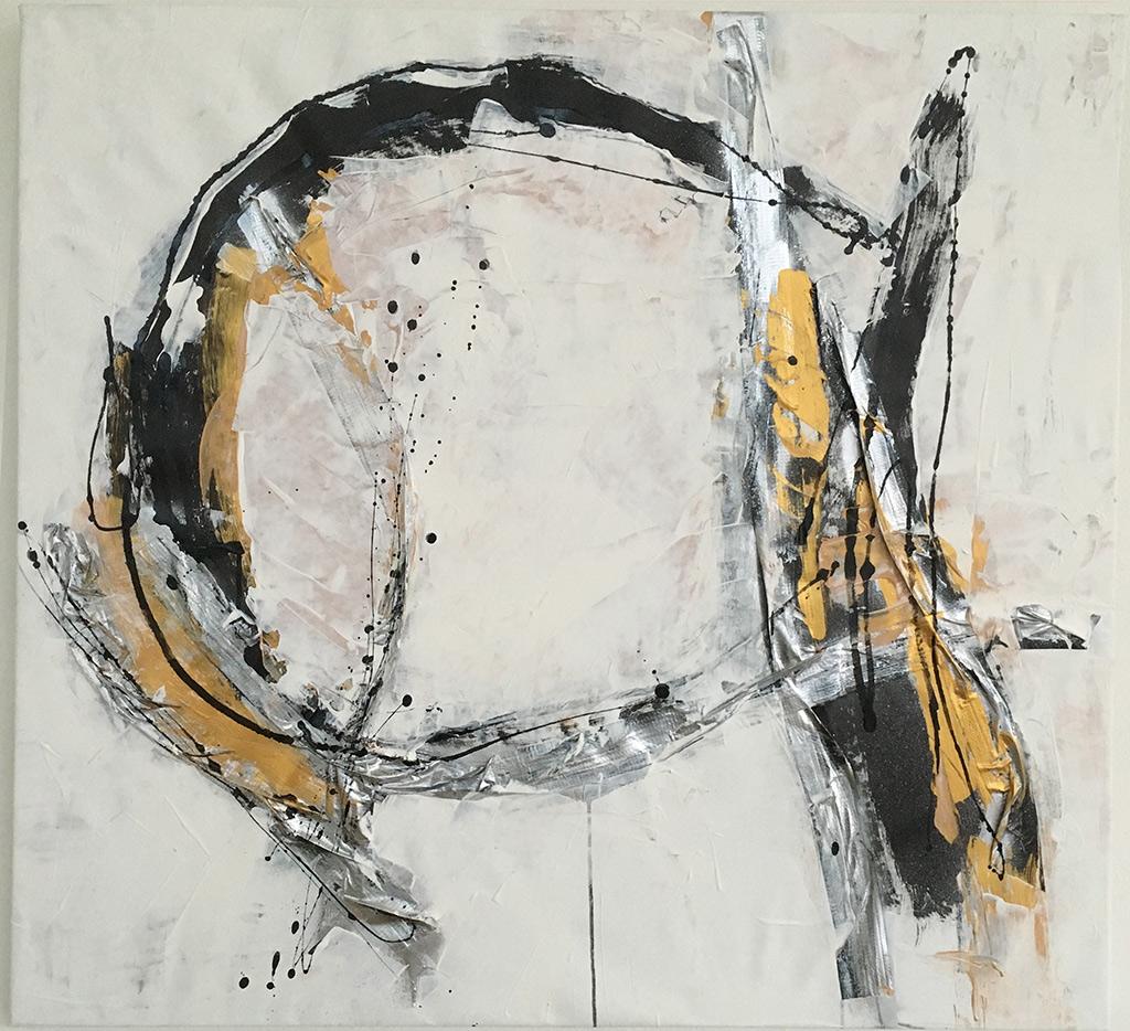 """A (Serie """"Life is a game"""") von Brigitte Felician Siebrecht"""