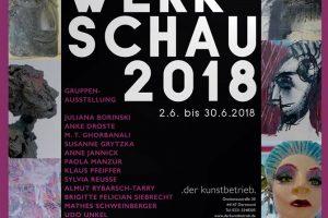 Werkschau 2018 / Galerie Der Kunstbetrieb 2018 verlängert!