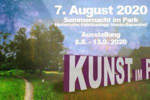 """Ausstellung """"Kunst im Park"""" 7.8. - 13.9.2020"""