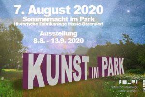 Plakat Kunst im Park 2020 Iserlohn-Barendorf